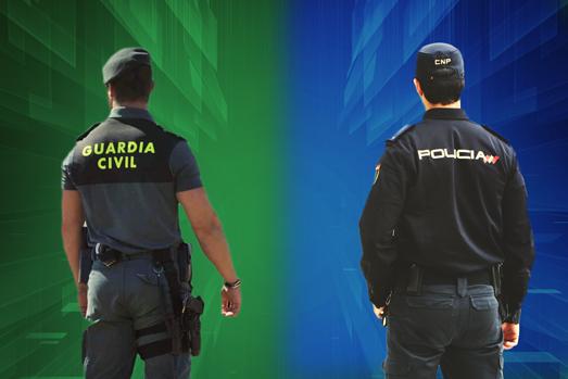 policía y guardia civil