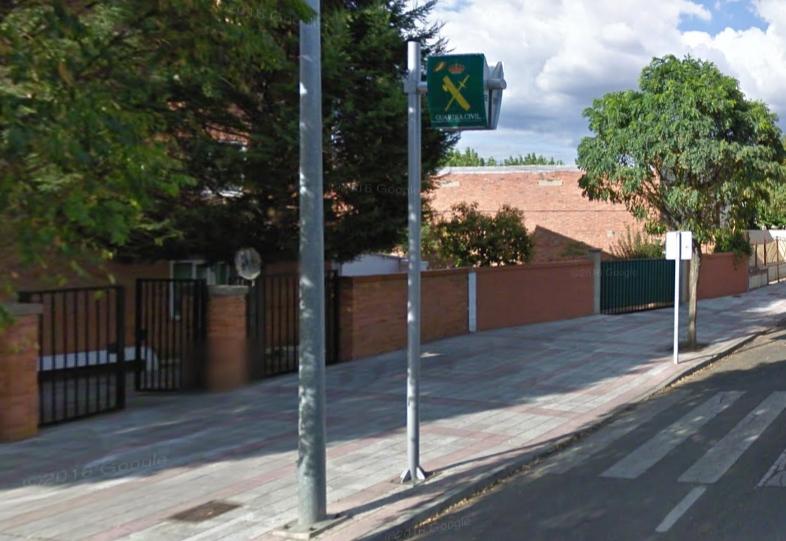 Cuartel de la Guardia Civil en Armunia (León)