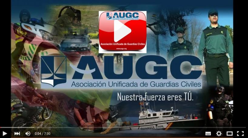 Captura de pantalla del vídeo resumen del Grupo de Trabajo sobre Jornada Laboral y el funcionamiento del Consejo de la Guardia Civil
