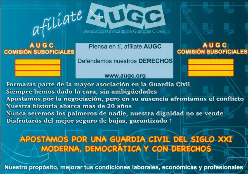 Campaña Comisión Suboficiales sobre unificación de empleos