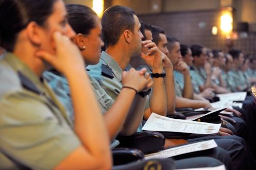 Formación guardias civiles