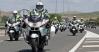 Motoristas de la Agrupación de Tráfico de la Guardia Civil.