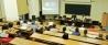 Aspecto general del aula donde se celebraron las Jornadas sobre la Abolición de la Jurisdicción Penal Militar en tiempos de paz