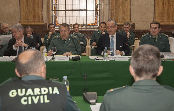 Imagen de archivo de un Pleno del Consejo de la Guardia Civil.