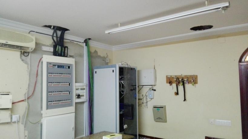 Estado de las instalaciones en el Puesto Principal de Chipiona (Cádiz).