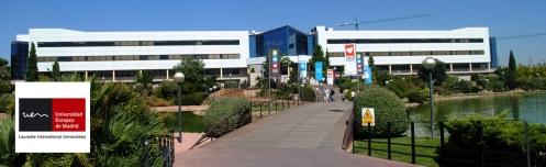 Sede de la Universidad Europea de Madrid, uno de los centros con los que AUGC mantiene convenios.