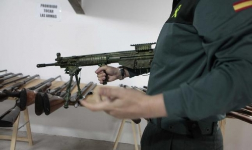 Intervención de Armas y Explosivos