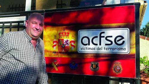 Javier Correa Sureda, coordinador de la Asociación de Cuerpos y Fuerzas de Seguridad del Estado Víctimas del Terrorismo (ACFSE)