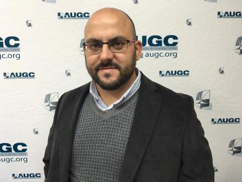 José Luis Labrador Vioque, Secretario Nacional de Acción Asociativa de AUGC