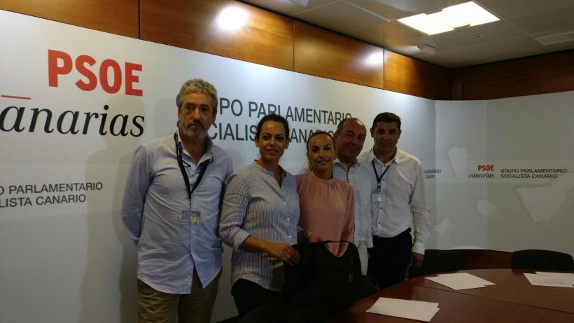 Reunión AUGC PSOE