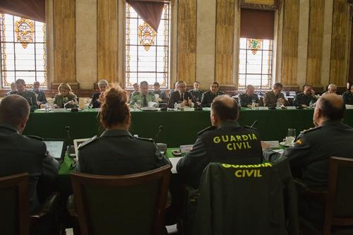 Imagen de archivo de un Pleno del Consejo de la Guardia Civil