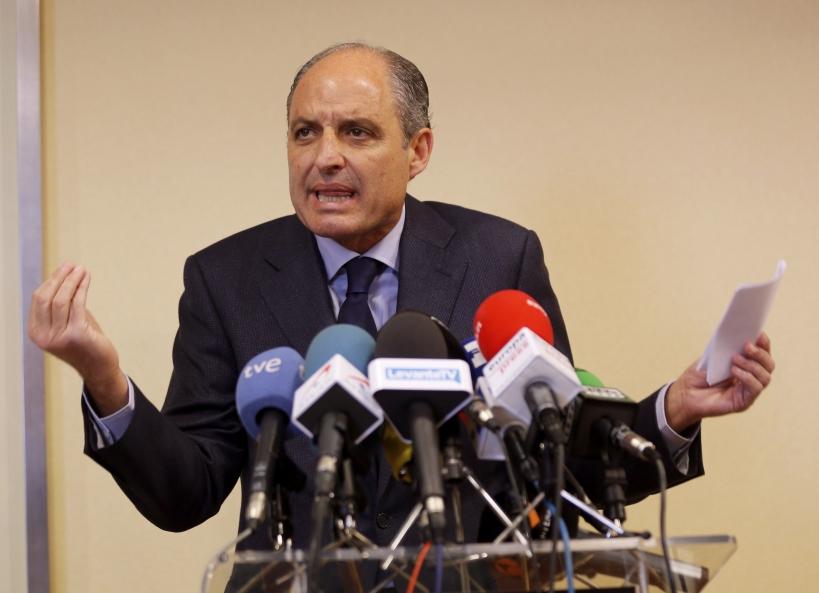 El expresidente de la Generalitat Valenciana Francisco Camps.