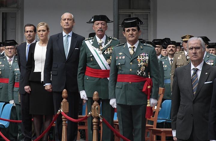 El Director General de la Guardia Civil, en un acto de la Patrona del Cuerpo