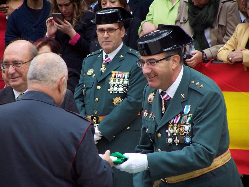 En la Guardia Civil, las medallas son casi siempre para los mismos