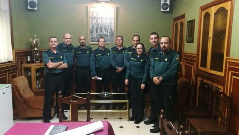 Representantes de las asociaciones profesionales en Segovia