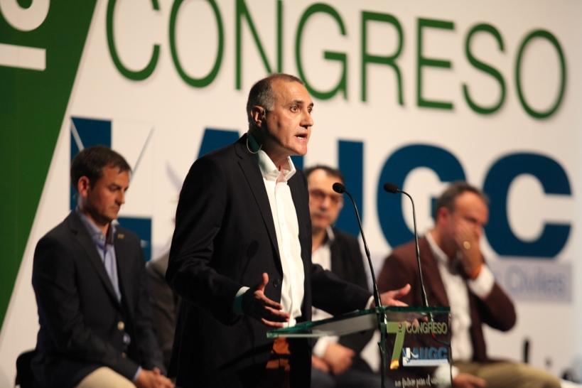 Alberto Moya, secretario general AUGC