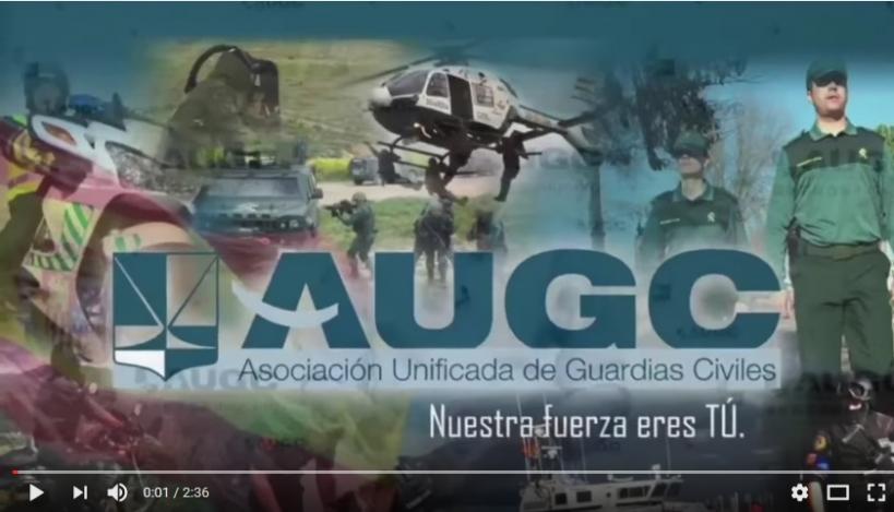 Captura del vídeo promocional de AUGC