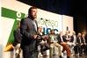 El diputado y Portavoz Suplente del Grupo Parlamentario Ciudadanos,Miguel Gutiérrez, durante su intervención en el 7º Congreso Nacional de AUGC, el pasado 26 de octubre.