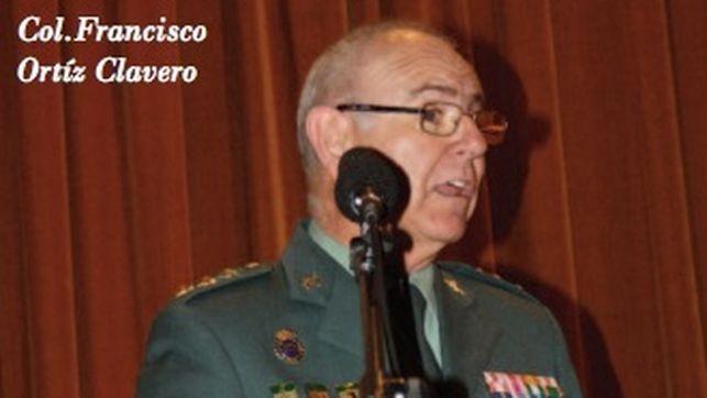 l coronel Ortiz Clavero, en una imagen de la revista de la Asociación Pro Huérfanos de la Guardia Civil
