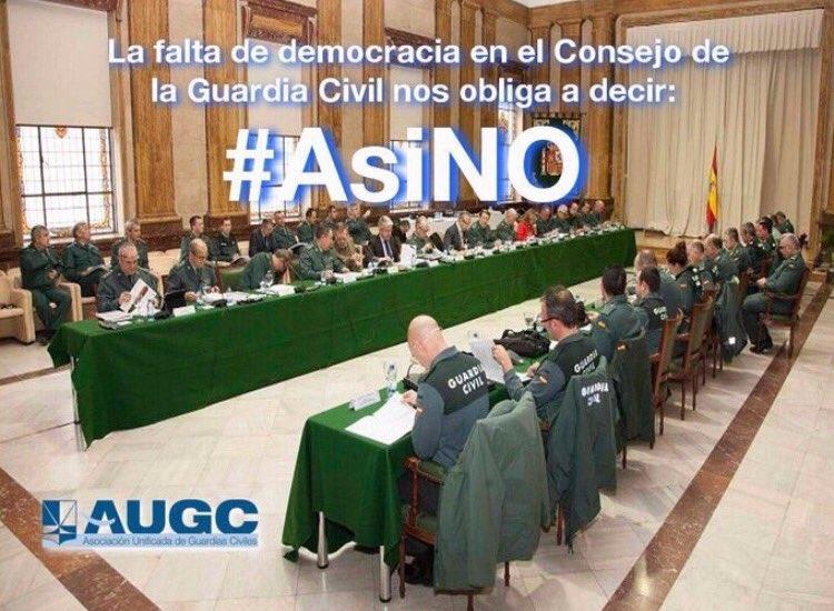 AUGC no está dispuesta a ser cómplice en la aprobación de este Plan de Acción Social