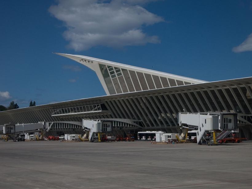 Aeropuerto de Bilbao Loiu.