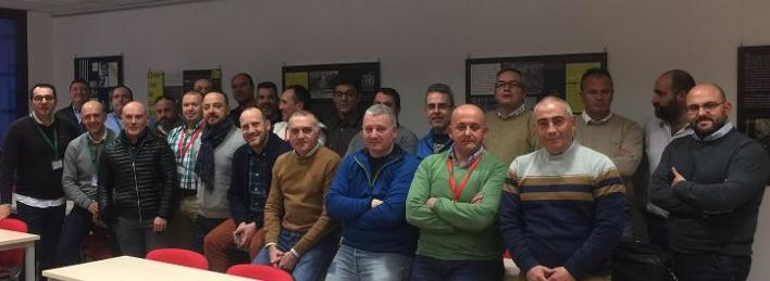 Asistentes al Comité Confederal celebrado hoy en Madrid.