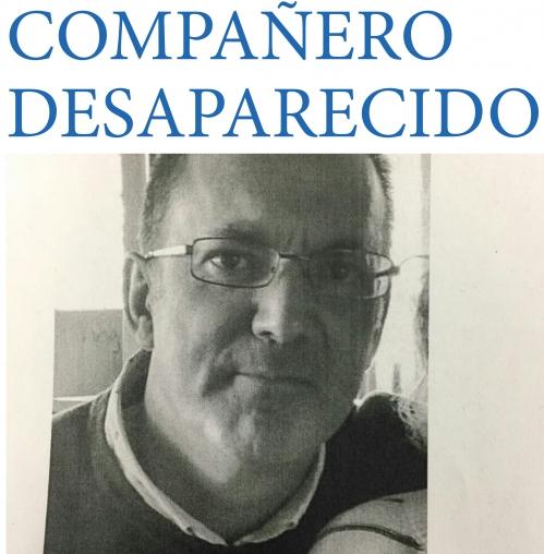 José Manuel Ramos Romero se encuentra desaparecido desde el pasado viernes.