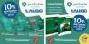 Carteles de los cursos que la academia Prefortia ofrece  a los afiliados de AUGC