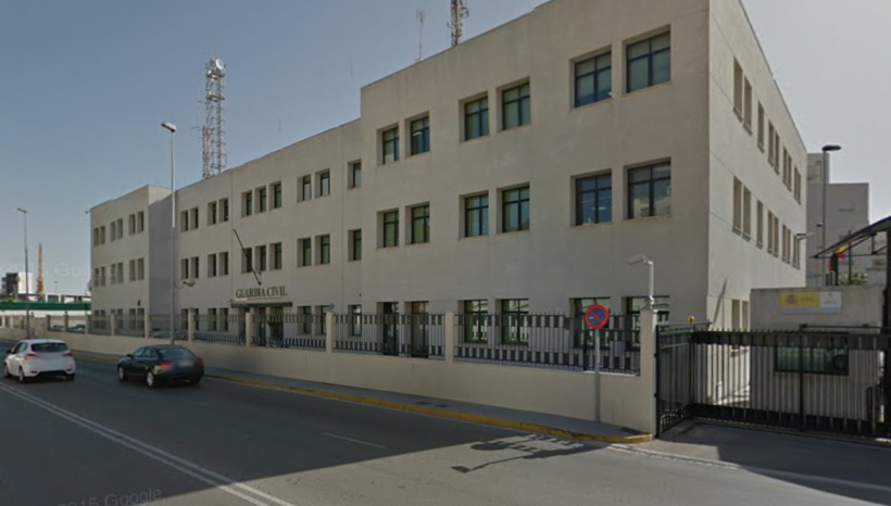 Comandancia de la Guardia Civil en Cádiz