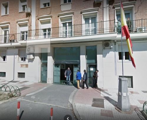 Comandancia de la Guardia Civil de Málaga.
