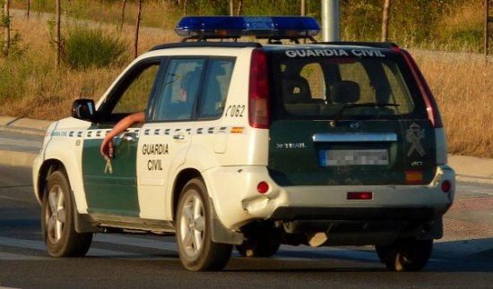 Muchos de los vehículos de la Guardia Civil se encuentran lejos de unas condiciones óptimas.