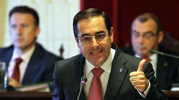 El subdelegado del Gobierno en Málaga, Miguel Briones.