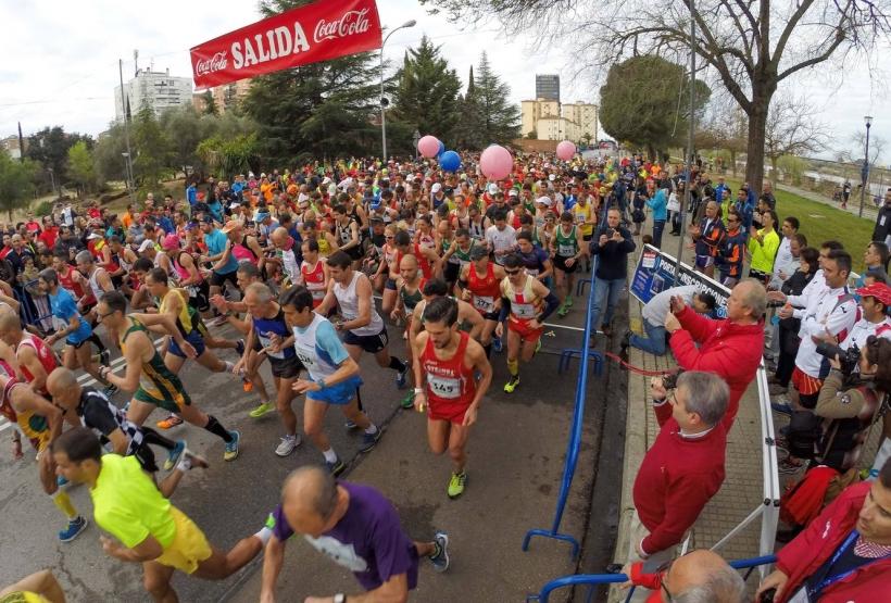 Imagen de la Maratón de Badajoz disputada este pasado domingo.