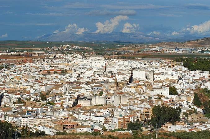 Vista panorámica de la localidad cordobesa de Puente Genil. Foto: www.turismopuentegenil.es