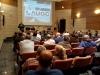 Vista general del salón de actos donde se desarrolló la asamblea de AUGC Málaga.