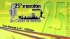 Cartel de la XXV Maratón Popular de Badajoz, celebrada el pasado 12 de marzo.