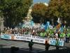 Imagen de la manifestación del 14 de noviembre de 2015, la Marea de Tricornios que reunió a más de 12.000 guardias civiles y familiares frente a la sede de la Dirección General.