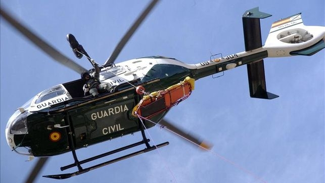 Helicóptero de la Guardia Civil