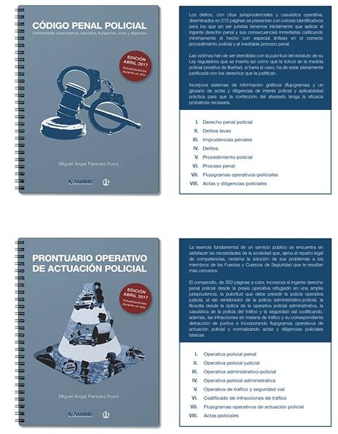 Portadas, resumen y capítulos de los dos manuales
