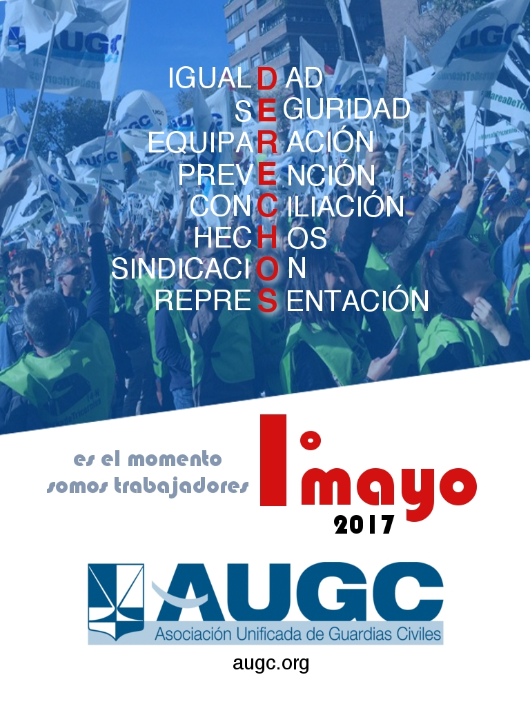 AUGC en defensa de los trabajadores y trabajadoras de la Guardia Civil.