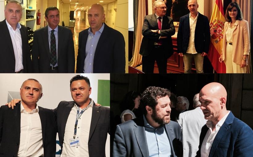 Reuniones con grupos parlamentarios de AUGC