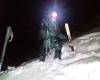 Un guardia civil, en una operación de rescate de montaña.