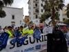 La delegación de AUGC en Cádiz participó activamente en la concentración.