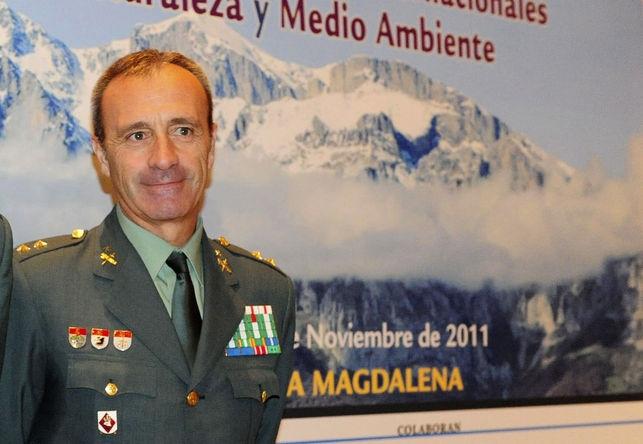 El coronel Francisco García Santaella.