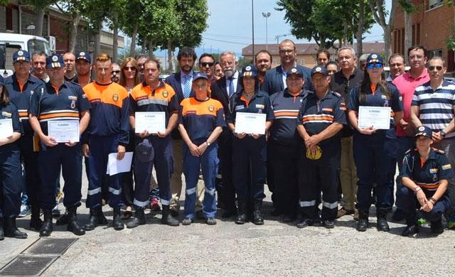 Foto de grupo con los participantes en el curso organizado por AUGC Toledo