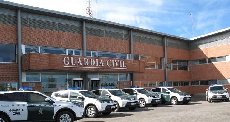 Comandancia de la Guardia Civil en Cáceres.