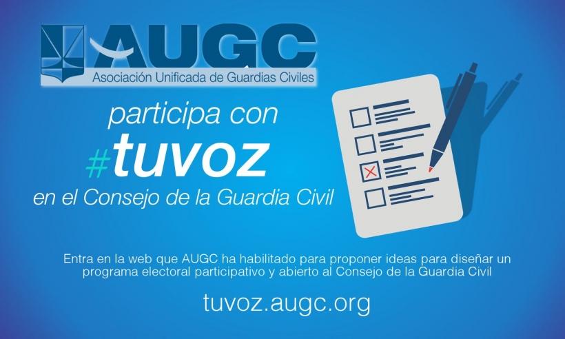 Entre todos construiremos el programa electoral de AUGC para las elecciones al Consejo.