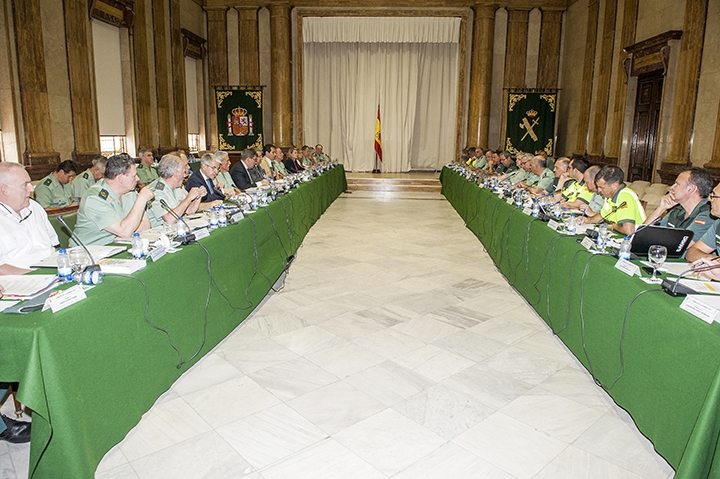 Celebración II Pleno Consejo Guardia Civil 2017