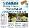 Portada del boletín electrónico de AUGC Murcia de julio 2017
