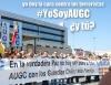 Concentracion en Vitoria de AUGC en repulsa del terrorismo.